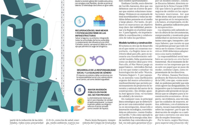 Futuro de la Economía en Murcia